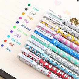 $enCountryForm.capitalKeyWord Australia - 10 Pcs   Lot Color Pens Gel Pens Kawaii Pen Kawaii Canetas Escolar Cute Korean Stationery Cute Gel Pen