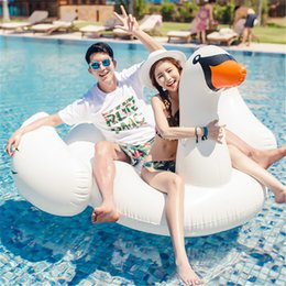 Inflatable Pool Raft NZ - Summer Inflatable Giant Swim Pool Floats Raft Air Mattresses Life Buoy Swimming Fun Water Sports Beach Toy for Adult Summer Toys