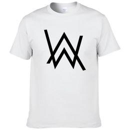 a3d918ea Fashion Music Dj Divine Comedy Alan Walker Printed T-shirt Men Hip Hop  Cotton Short Sleeve Casual Male T Shirts Tee Shirts #278