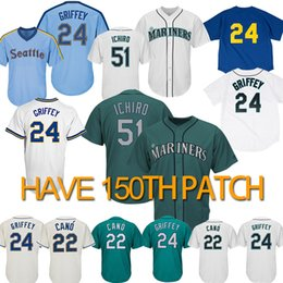 81b23026ccb Seattle marinerS baSeball jerSey online shopping - 51 Ichiro Suzuki Seattle  jersey Mariners Ken Griffey Jr