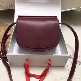 tiding leather bags Australia - The New Vintage Leather Flip saddle bag shoulder bag all-match Korean tide
