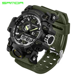 $enCountryForm.capitalKeyWord NZ - Sanda 742 Military Men's Watches Top Brand Luxury Waterproof Sport Watch Men S Shock Quartz Watches Clock Relogio Masculino 2019 Y19051302