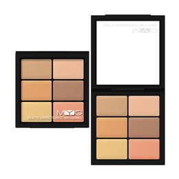 $enCountryForm.capitalKeyWord NZ - MYG Brand makeup 6 colors Concealer Cover spot Natural Waterproof Concealer top quality face cosmetic concealer cream free ship