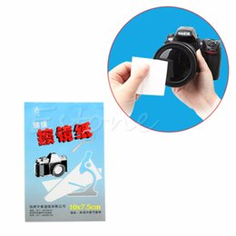 $enCountryForm.capitalKeyWord Australia - 1pc 50 Sheets Soft Camera Lens Optics Tissue Cleaning Clean Paper Wipes Booklet