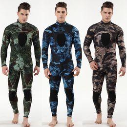 Scuba Suits Australia - 2019 3mm scuba diving suit SCR chloroprene rubber submersible surfers to prevent cold and warmth 3MM diving suit one-piece wetsuit