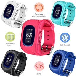 kid children smart watch NZ - New Listing Hot GPS Kid smart Watch Baby Watch Children SOS Call Location Finder Locator Tracker Anti Lost Monitor Smartwatch