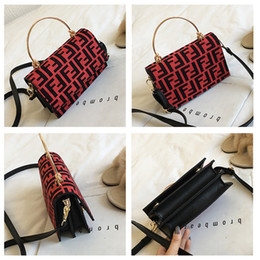 Trendy ladies backpack online shopping - Women F Letters PU Handbag Fashion Protable One Shoulder Bag Trendy Messenger Bag Lady Zipper Tote Wallet Purse Travel Storage Bags C483