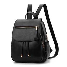 bag backpack japan women NZ - Shoulder bag lady 2020 new women bag Korean loft leather backpack school bags
