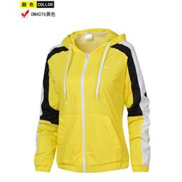 Wholesale womens jacket windbreaker resale online – 2020 New Spring Autumn Mens Womens Designerjackets Windbreaker Zipper Coat Casual Brandjackets Outerwear Active Running Jacket D