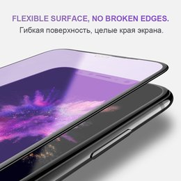 $enCountryForm.capitalKeyWord Australia - 0.23mm 3D Curved Tempered Glass for iPhone X Soft Edge High Definition Anti Blue Light Screen Protector for iPhone XS