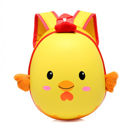 red satchel backpack for kids NZ - Girls Cartoon Backpacks Kids Cute Bag Satchel Lovely Chicken Rucksack Casual Bag School Shopping Travel Backpack Gifts for children
