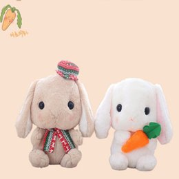 soft toys rabbit NZ - 1pc 22cm Lovely Rabbit Plush Toys Soft Stuffed Animals For Children Girls Gifts Easter cute bunny doll 2020 NEW HOT