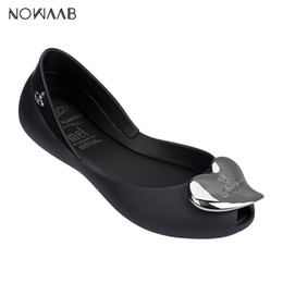 bc4ff692dd0 Melissa Anglomania + Mel II 2019 Women Bow Flat Sandals Brand Melissa Shoes  For Women Jelly Sandals Female Jelly Shoes