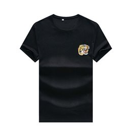 $enCountryForm.capitalKeyWord NZ - 2019 Summer Fashion Brand Tag Short Sleeve Men's T-Shirts GG009 Bees design Italy style cotton Man Clothing tshirt Tiger snake O-neck tees