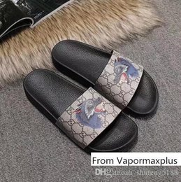 Big tv s online shopping - Men Women s Rubber Sandals Colourful Casual G Print Tiger Snake Bee Cat Slippers Leather Flat Shoes Flip Flop