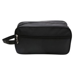 China Men Male Casual Waterproof Makeup Travel Cosmetic Bag Case Pouch Toiletry Solid Zipper Large Capacity Wash Organizer Storage supplier men beds suppliers