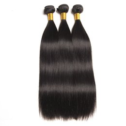 Wholesale Brazilian Virgin Hair Extensions Bundles Silk Straight Unprocessed Remy Human Hair Weave Brazilian Straight Hair