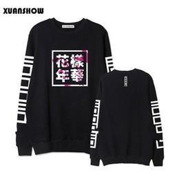 $enCountryForm.capitalKeyWord Australia - Wholesale- Fashion Hoodies Women Bangtan Boys Album Fans Clothing Letter Printed O Neck Spring Autumn Winter Sweatshirts