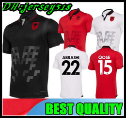 4fc122c44 EuropEan soccEr jErsEys online shopping - 2019 European Cup Republic of  Albania Soccer Jerseys HYSAJ XHAKA