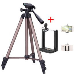 Tripod carry bags online shopping - Andoer WT3130 Aluminum Camera Tripod with Rocker Arm Carry Bag Camera DV Camcorder w Phone Clamp Mini Protable Clamp For Phone