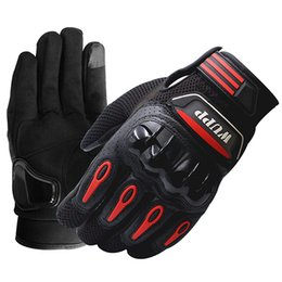 $enCountryForm.capitalKeyWord Australia - Vieruodis Leather Hand Gloves for Motorcycle Riding Touch Screen Waterproof Motocross Gloves Full Finger Warm L XL XXL