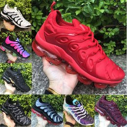 f75543f8450a Cheapest TN Plus Running Shoes Wholesale For Men and Women Sneakers  Designer High Quality Black White Sports Shock Shoes Discount Size 36-45