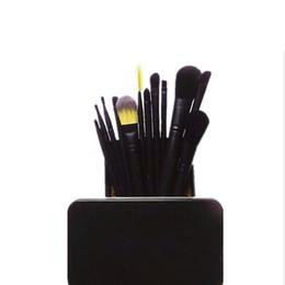 $enCountryForm.capitalKeyWord UK - 2019 Top-selling MP metal case professional makeup brushes set 12 piece Powder Foundation Eye Shadow Cosmetics Brush kit