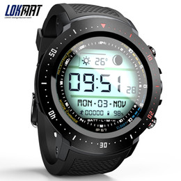 quad core 1.3ghz UK - LOKMAT LK04 1.39-Inch Waterproof 4G LTE Smart Watch Phone Android 7.1 Quad Core 1.3GHz 1GB+16GB 2MP 530mAh