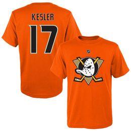 Duck t shirts online shopping - Ryan Getzlaf kesler Black Hockey Jerseys Anaheim Ducks T shirts Sport shirts Corey Perry Orange Fans Tops Tees printed Logos