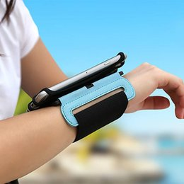 Quick Release Fasteners Australia - Designer- Sport Armband adjustable quick-release fastener and cushioned inner surface for running cycling phone Universal Protective Case