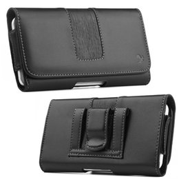 Leather Belt Holster Case NZ - Phone Cover Belt Clip Holster Leather Pouch Case for Samsung LG Huawei Xiaomi 6.3Inch Universal Mobile Phone Bag for Smartphone