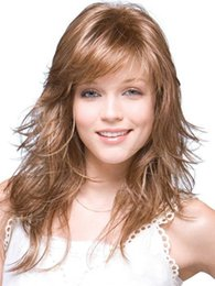 $enCountryForm.capitalKeyWord Australia - CHIRARROSE Brand New Fashion Womens Synthetic Wig Hair Accessory Natural Straight Eversion Mid-long Wig 1 piece ss160