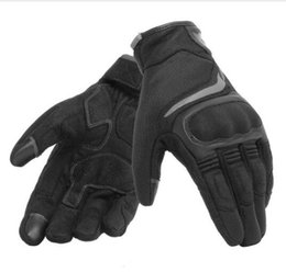 Free Finger Bikes Australia - Free shipping 2019 Dain Air Master Vented Gloves Black Black Racing Men's Glove Motorcycle Bike Glove