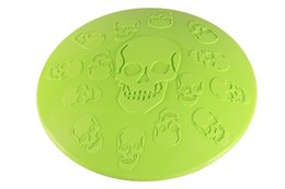 Toy Frisbee Australia - 1PCS Frisbee for Dog Rubber Dog Training Frisbee Durable Rubber Flying Disc Dog Toy 4 Colors 2 Patterns
