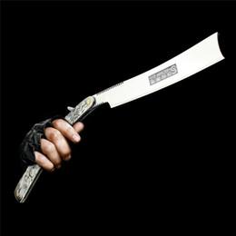 $enCountryForm.capitalKeyWord Australia - New Barber Shaving Japan Imported Men Stainless Steel Handle Straight Razor Folding Knife Shaving Free Shipping J190718