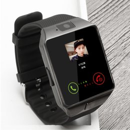 smart watch wholesale Australia - Bluetooth smart watch Intelligent Wristwatch Support Phone Camera SIM TF GSM for Android iOS Phone dz09 pk gt08 a1 men and women