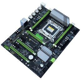 Discount intel i7 desktop - X79T Ddr3 Pc Desktops Motherboard Lga 2011 Cpu Computer 4 Channel Gaming Support M.2 E5-2680V2 I7 Sata 3.0 Usb 3.0 For I