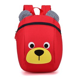 $enCountryForm.capitalKeyWord Australia - Anti-lost Kids Toddler Backpack with Safety Harness Leash Cute Bear Cartoon Animal Schoolbag for Kindergarten Little Boys Girls