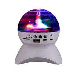 $enCountryForm.capitalKeyWord Australia - Bluetooth Speaker With Built-In Light Show Party  Disco DJ Stage & Studio Effects Lighting RGB Color Changing LED Crystal Ball wholesale