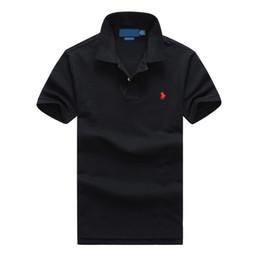 $enCountryForm.capitalKeyWord UK - Polo ralph t shirt lauren mens polos brand men luxury shirts men designer clothing t shirts Embroidery Pony mark top quality polos mens tees