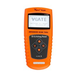 Vgate Obd Scanner UK - VGATE VS900 Oil Service and Airbag Reset Tool Vgate Scanner VS-900 OBD2 Car Diagnostic Scanner VS 900 OBD 2 Diagnostic Tool