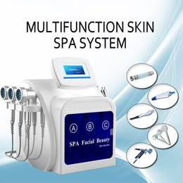 $enCountryForm.capitalKeyWord NZ - Hydra dermabrasion hydra facial machine Cryotherapy cold Therapy Acne Treatment Ionic Blood Vessels Removal High Frequency Skin Rejuvenation