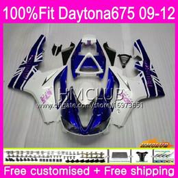 $enCountryForm.capitalKeyWord Australia - Injection For Triumph Daytona 675 09 10 11 12 Bodywork 44HM.2 Daytona-675 Daytona675 Daytona 675 2009 2010 2011 2012 blue white Fairing
