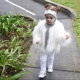 $enCountryForm.capitalKeyWord NZ - Autumn Winter Fur Jackets For Girls Princess Coat Waterfall Baby Girl Faux Fur Coat Fashion Kids Jackets Children Outerwear