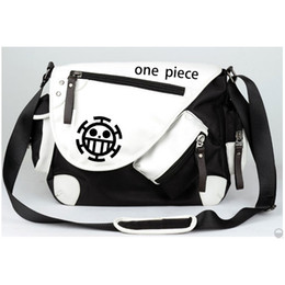 Wholesale monkey d luffy cosplay for sale - Group buy Anime One Piece Cosplay Monkey D Luffy Cos Anime Men and Women Student Messenger Bag Shoulder Bag Birthday Gift