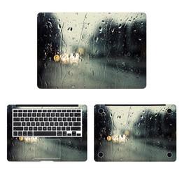 Skins Windows Australia - Rain On Window Full Cover Skin Laptop Sticker For Macbook Decal Pro Air Retina 11 12 13 15 Inch Hp Mi Mac Surface Book Sticker T6190615
