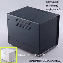 $enCountryForm.capitalKeyWord Australia - Freeshipping Free shipping one pcs 195*160*150mm Iron enclosure metal junction box diy iron case custom electronic enclosure