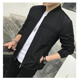 $enCountryForm.capitalKeyWord NZ - Univos Kuni New Autumn Long Sleeve Coat Homme Jackets Fashion Casual Korean Slim Fit Thin Male Jacket Brand Overcoat Q5134 C19041501