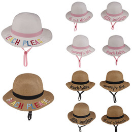 $enCountryForm.capitalKeyWord Australia - 10styles Kids Bucket Hat Strawhat Sunhat summer beach Sun Hat Word Fishing Caps Baby Fisherman Cartoon Kids Beach Baby Hats Shipping by DHL