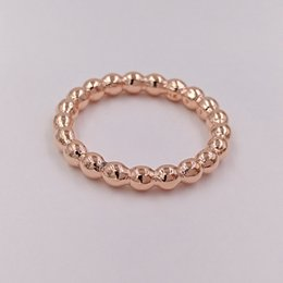 European Gold Ring Australia - Rose Gold Plated & 925 Sterling Silver Ring Eternal Cloud European Pandora Style Jewelry Charm Ring Gift -P